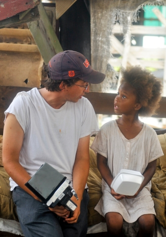 Quvenzhané Wallis_Benh Zeitlin_Dwight Henry_Beasts_of_the_Southern_Wild