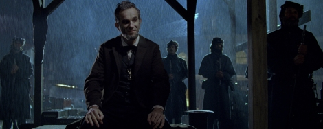 Daniel Day-Lewis plays the 16th president in Lincoln.