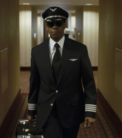 Denzel Washington is Whip Whitaker in FLIGHT,  from Paramount Pictures.