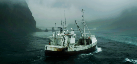 Iceland's The Deep is based on the true story of a fisherman who survives a shipwreck.