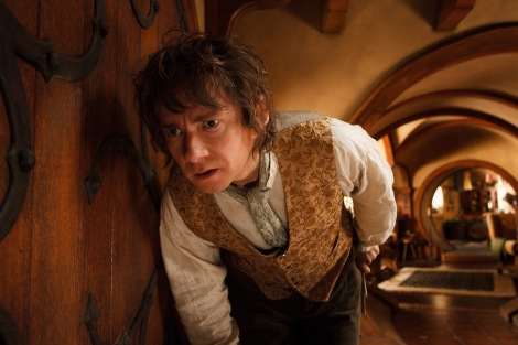 Martin Freeman plays the young Bilbo Baggins in The Hobbit: An Unexpected Journey.