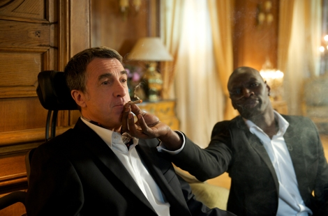 François Cluzet, left, and Omar Sy in The Intouchables.