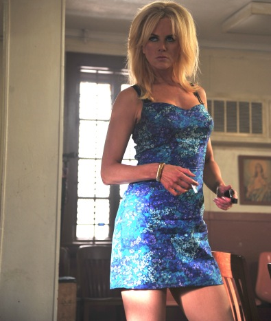 Nicole Kidman plays white-trash-fabulous in Lee Daniels' The Paperboy.