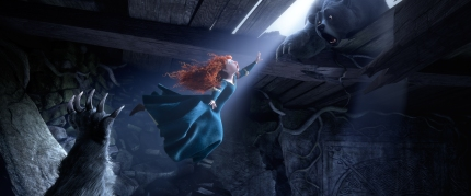 The headstrong red-haired Merida of Disney/Pixar's Brave.