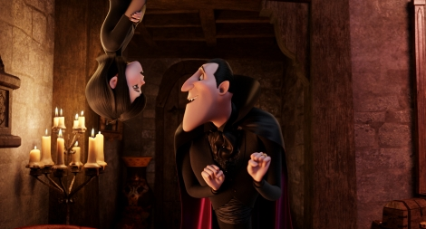 Adam Sandler is the voice of hotelier Dracula in Hotel Transylvania.
