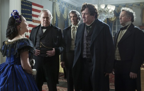 Tommy Lee Jones plays abolitionist Senator Thaddeus Stevens in Lincoln.