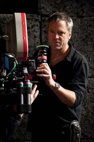 Wally Pfister mixed IMAX and 35mm for Christopher Nolan's The Dark Knight Rises.