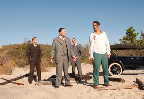 Bobby Cannavale plays Gyp Rosetti, right, a vicious bloodthirsty gangster.