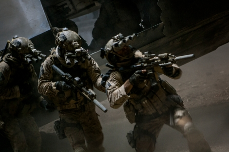 Kathryn Bigelow's Zero Dark Thirty closely follows the real-life raid on Osama bin Laden's hideout in Pakistan.