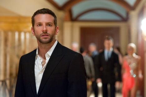 Bradley Cooper stars in Silver Linings Playbook.