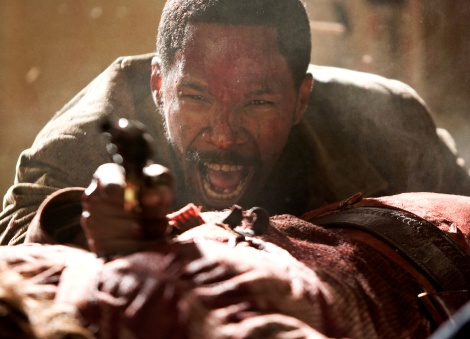 Jamie Foxx stars as a slave-turned-bounty hunter in Django Unchained.
