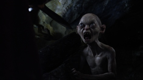 Gollum's completed scene.