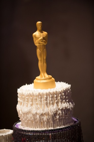 More than 5,000 mini chocolate Oscars and 50 life-sized chocolate Oscars will decorate the room.