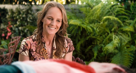 Helen Hunt plays a sex therapist in The Sessions.