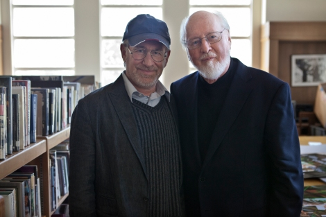 John Williams, right, earned his fifth Oscar nomination this year for Lincoln.