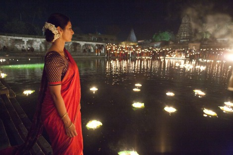 Real candles lit this scene in Life of Pi.