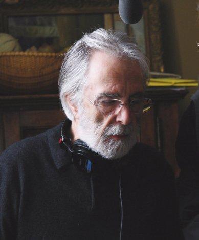 """Amour"" writer, director Michael Haneke"