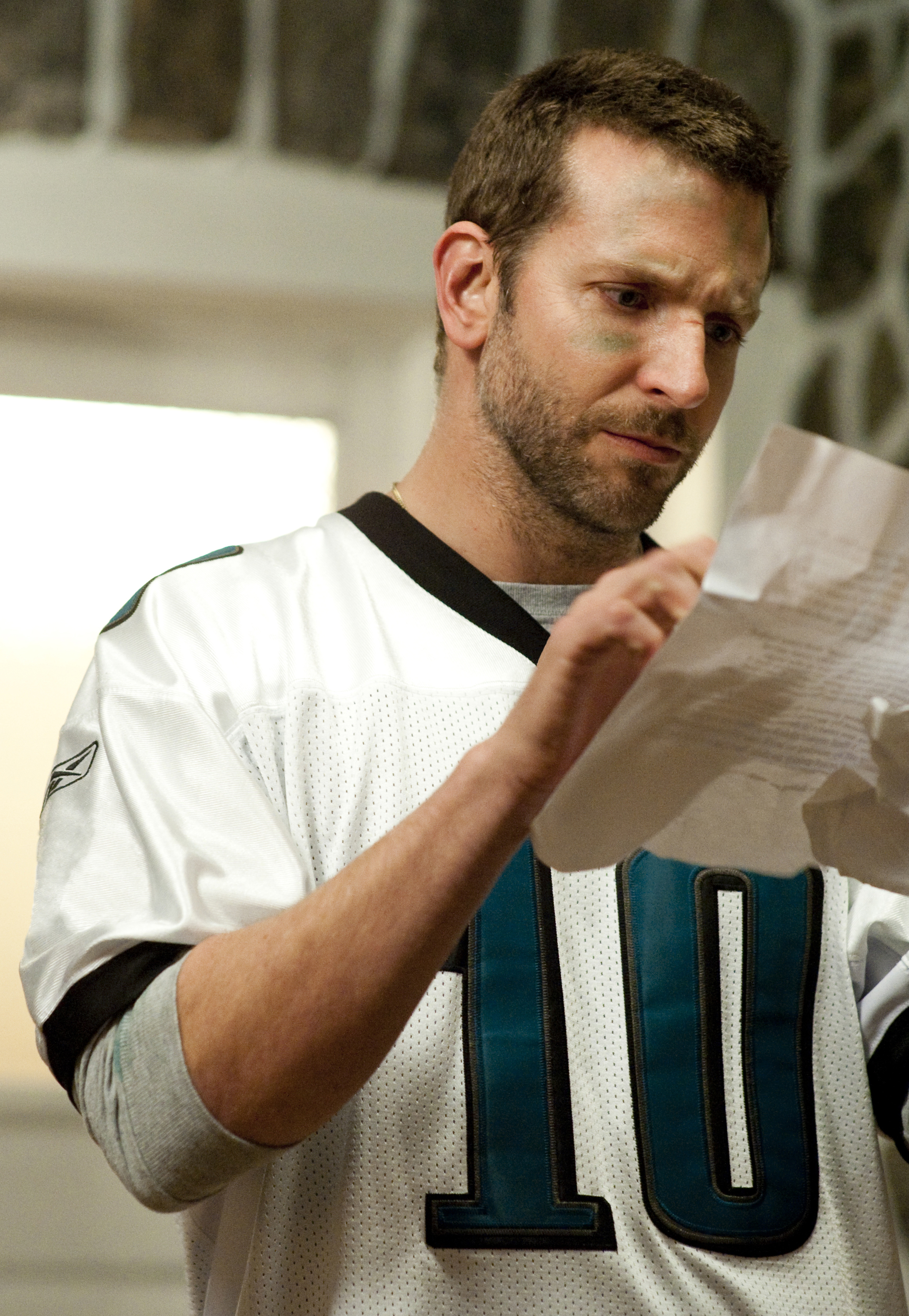 BRADLY COOPER stars in SILVER LININGS PLAYBOOK