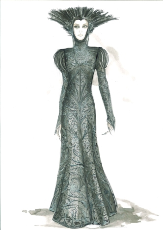 There were 2,000 costumes created for Snow White and the Huntsman.