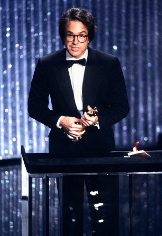 Warren Beatty accepting the Oscar for Directing at the 1981 (54th) Academy Awards.