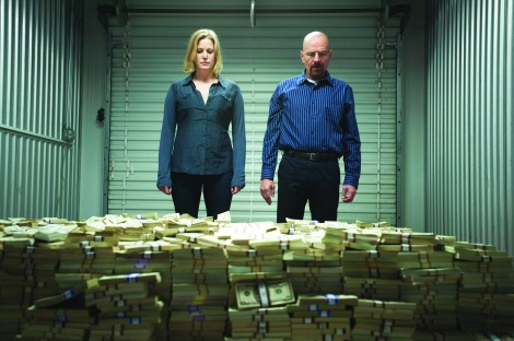 AMC's Breaking Bad returns for its final handful of episodes Aug. 11.
