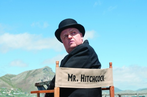 Toby Jones stars as Alfred Hitchcock in HBO's The Girl